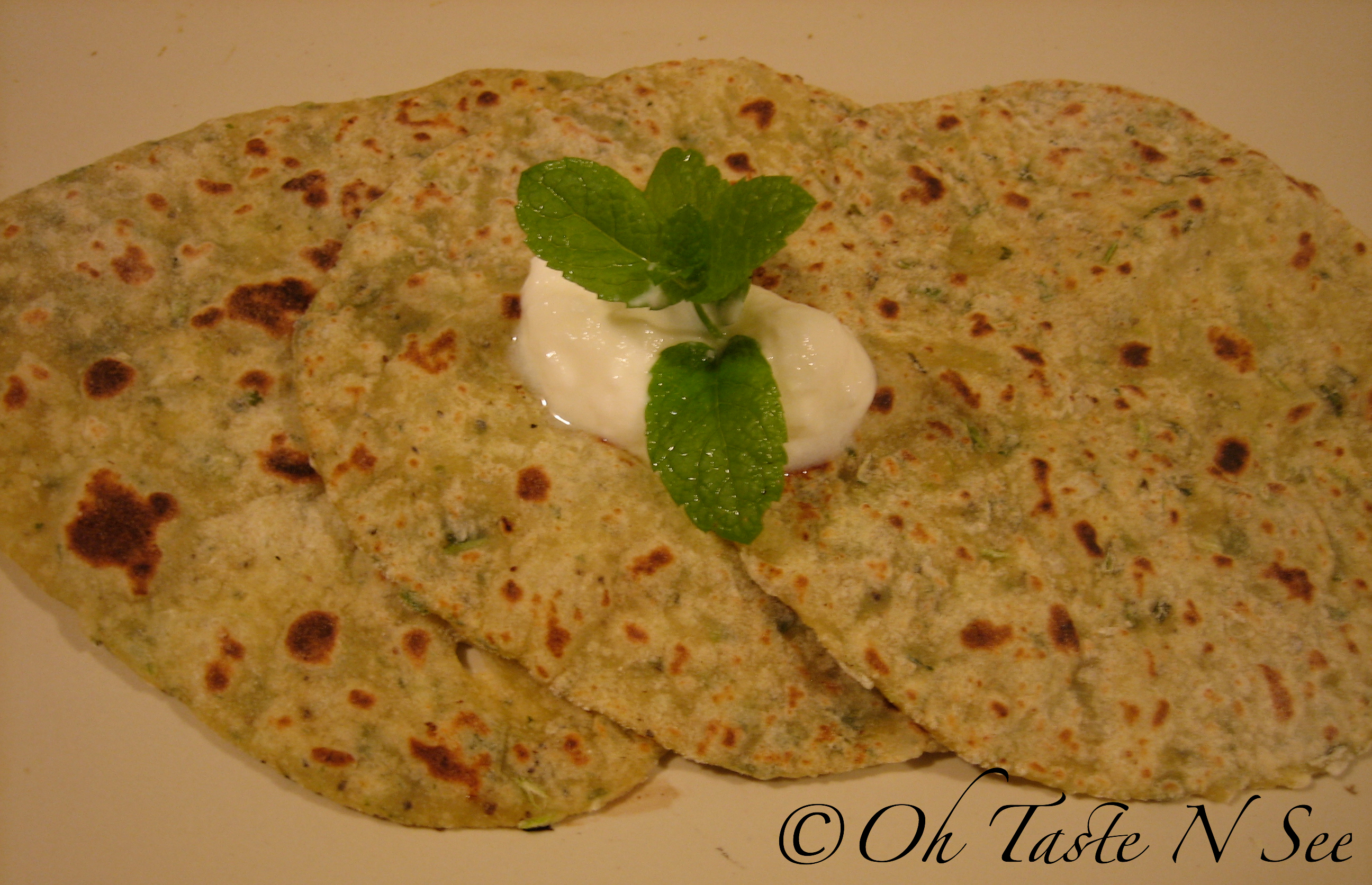 Minty Cottage Cheese Paratha 2