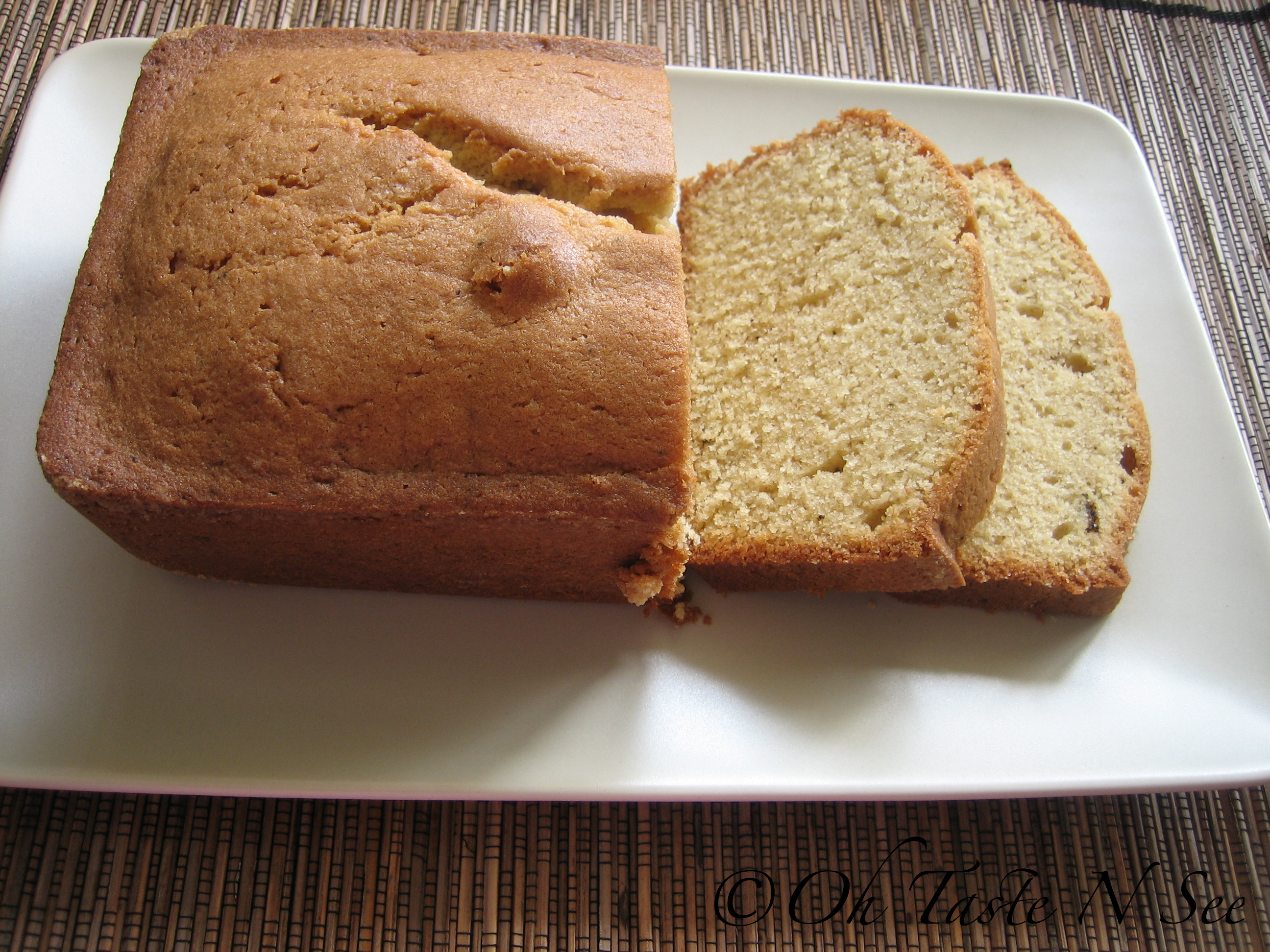 Browned Butter Pound Cake 1