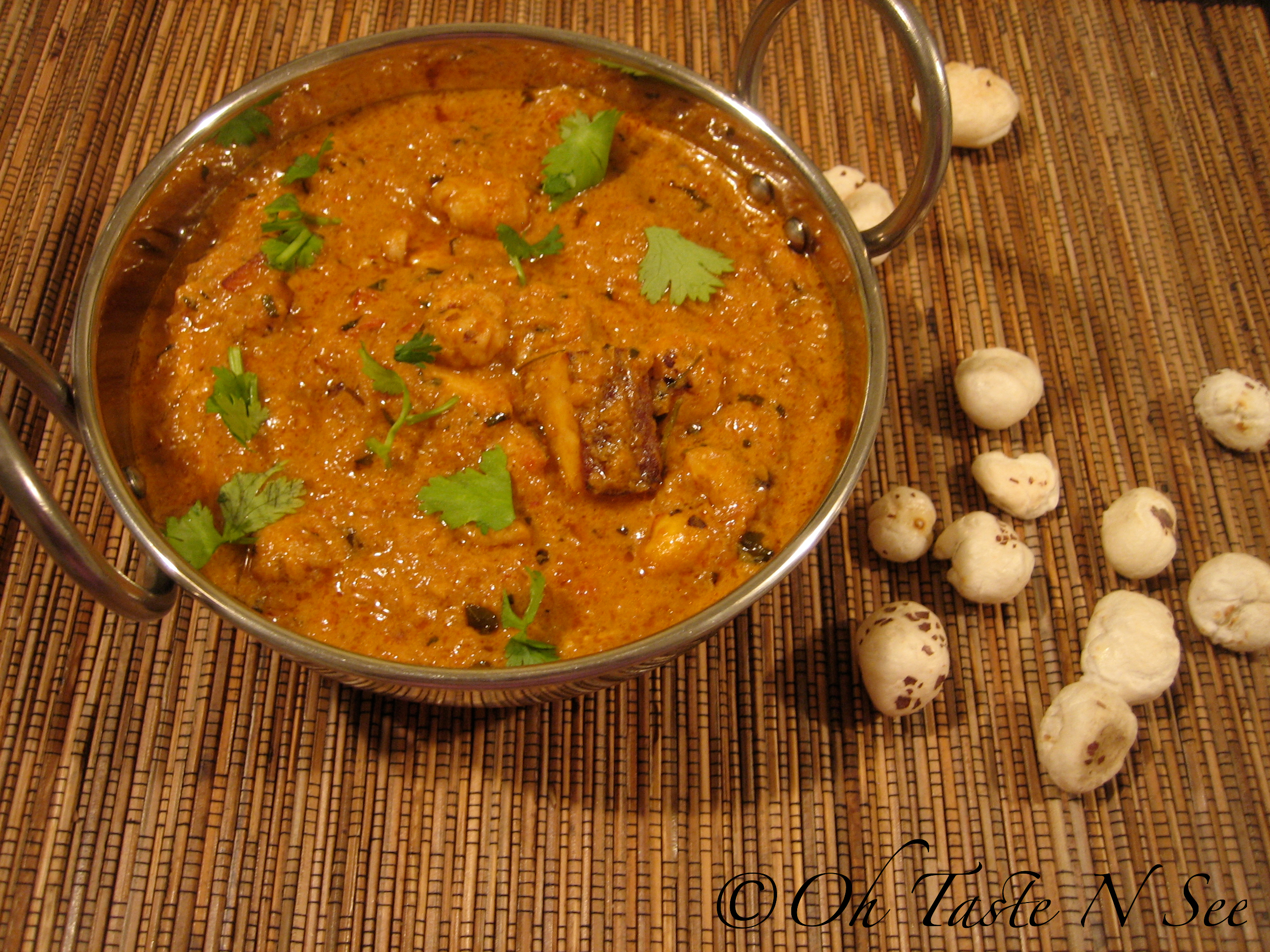 Makhana Paneer Curry