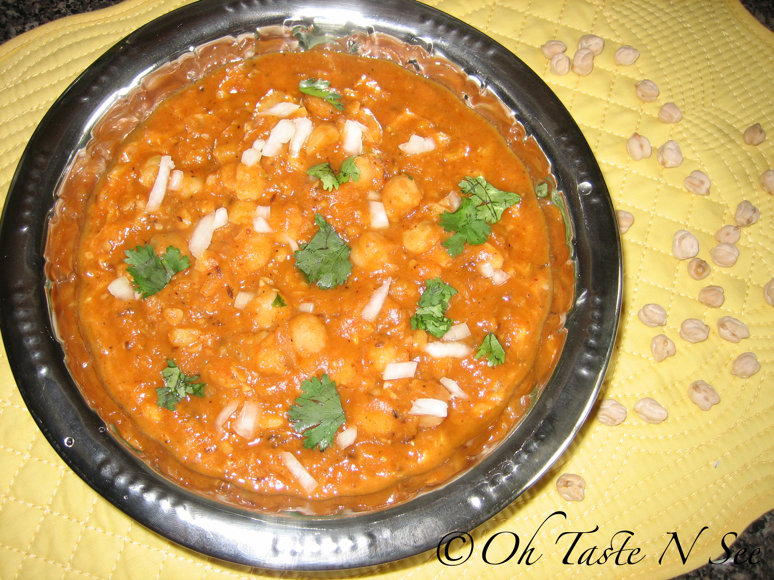 Easy channa masala 1