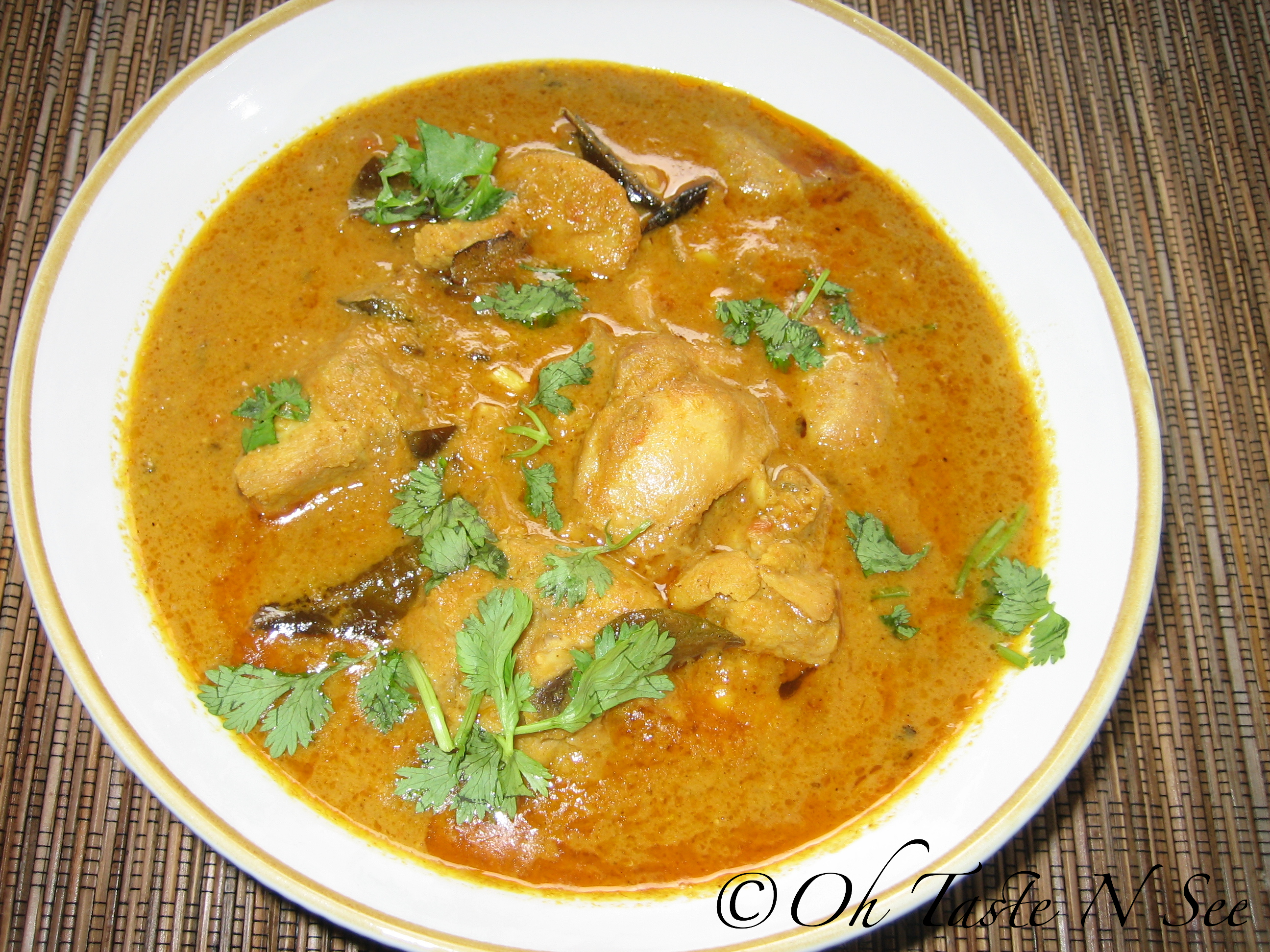 Chettinad Chicken kuzhambu 1