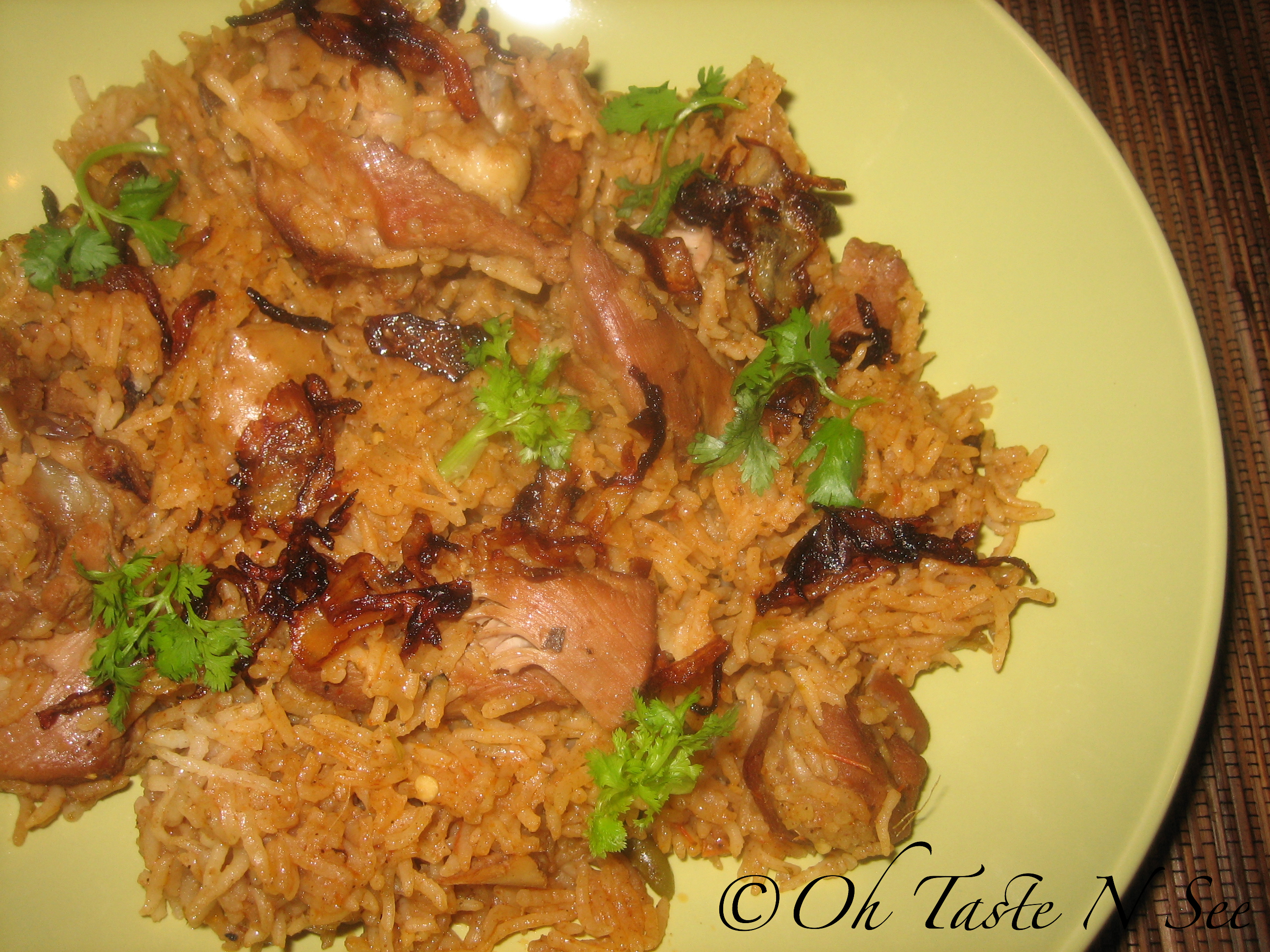 Turkey briyani 2