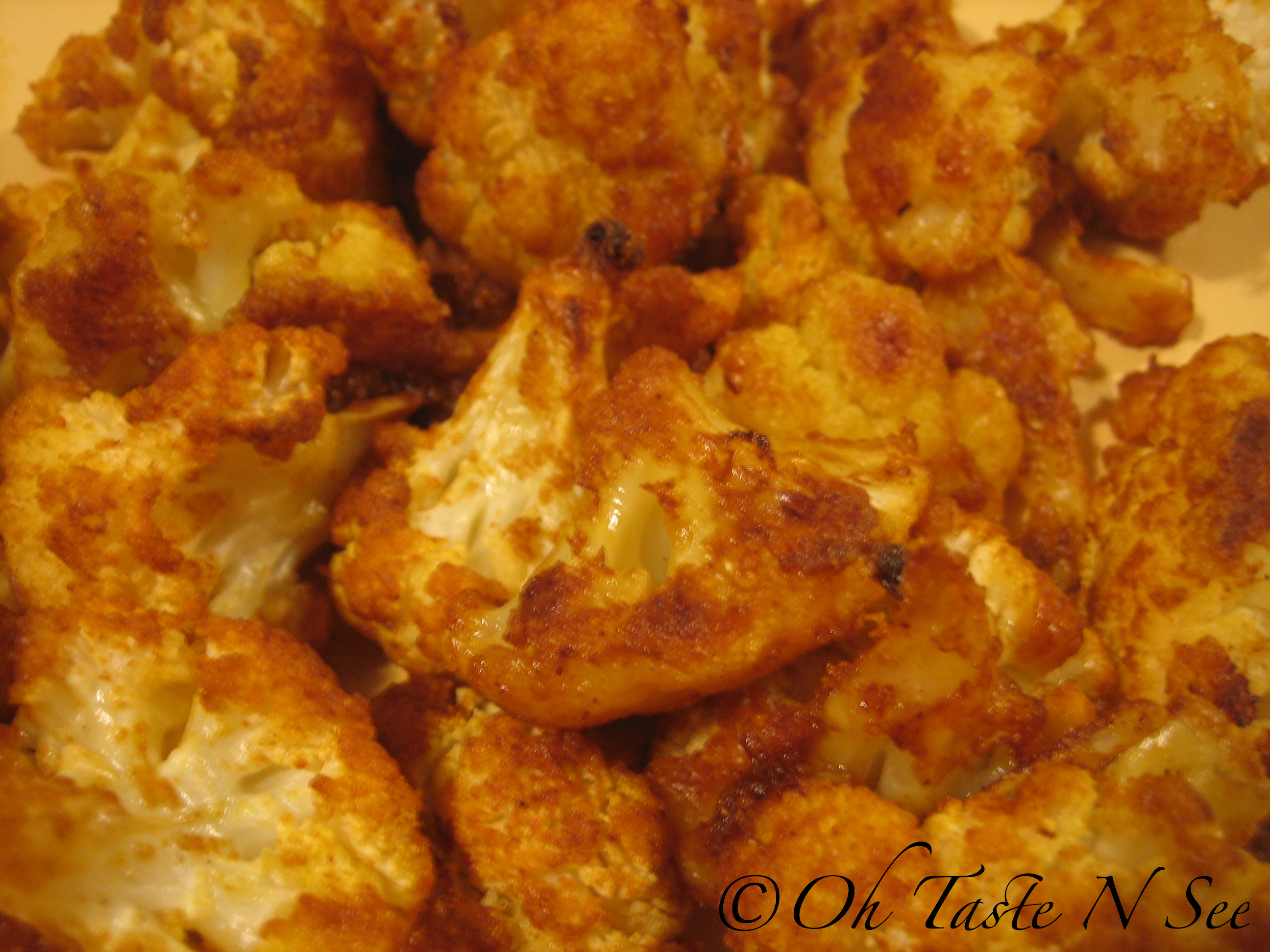 Crispy Oven Roasted Cauliflower | Oh Taste n See.....