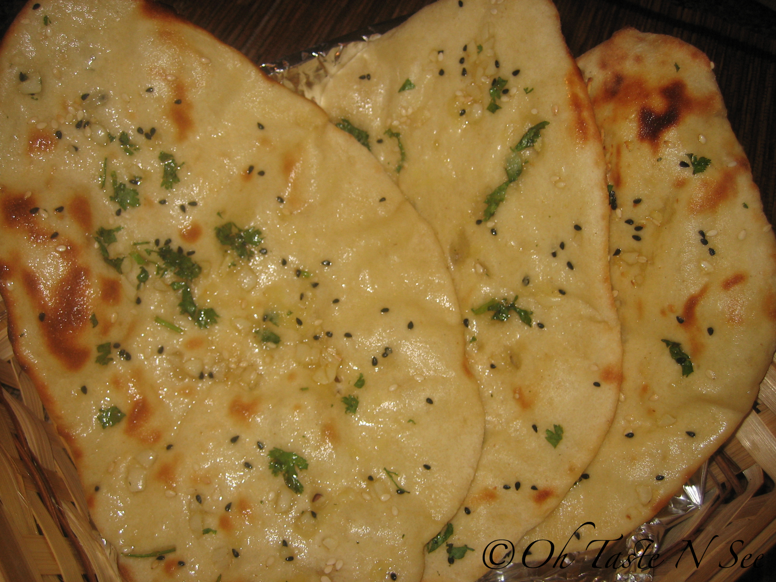 Indian Garlic Naan Recipes — Dishmaps