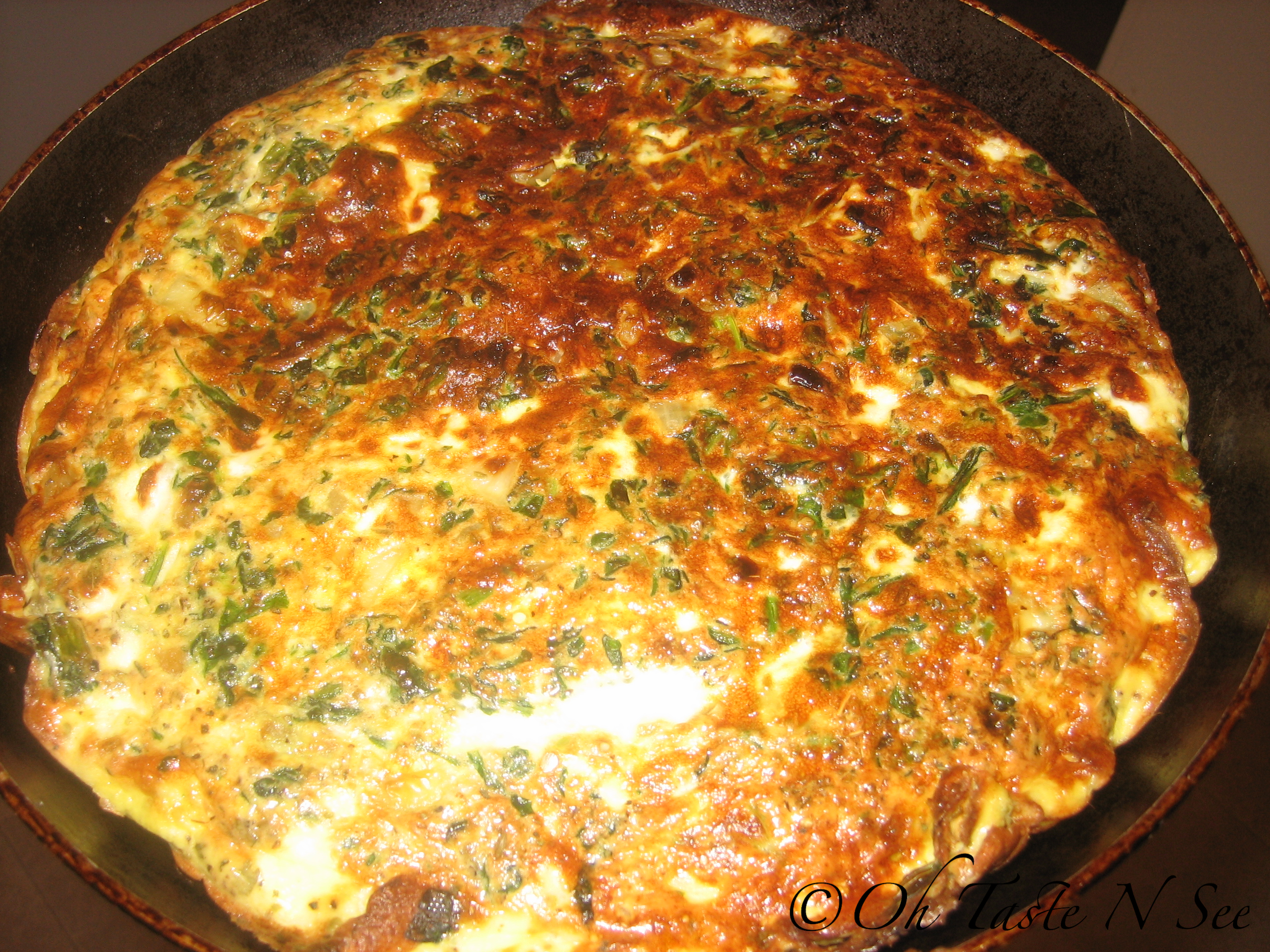 Greek Frittata 1