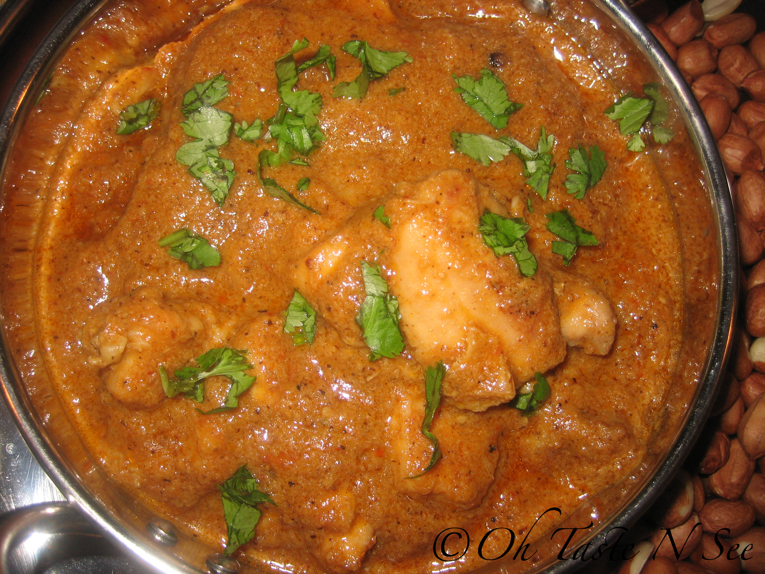 Peanut Chicken Curry | Oh Taste n See.....