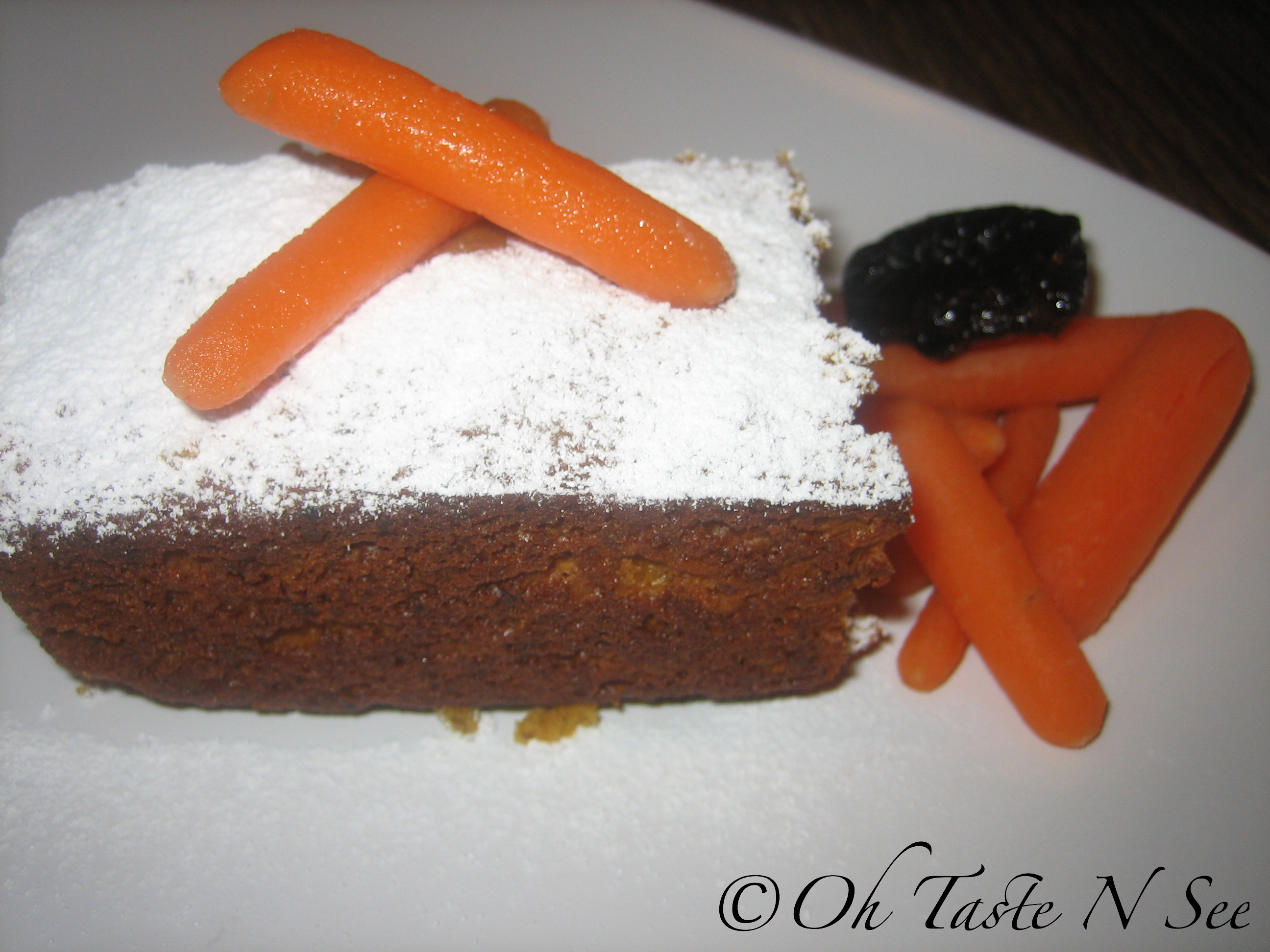 Carrot Pineapple Prune Cake 3