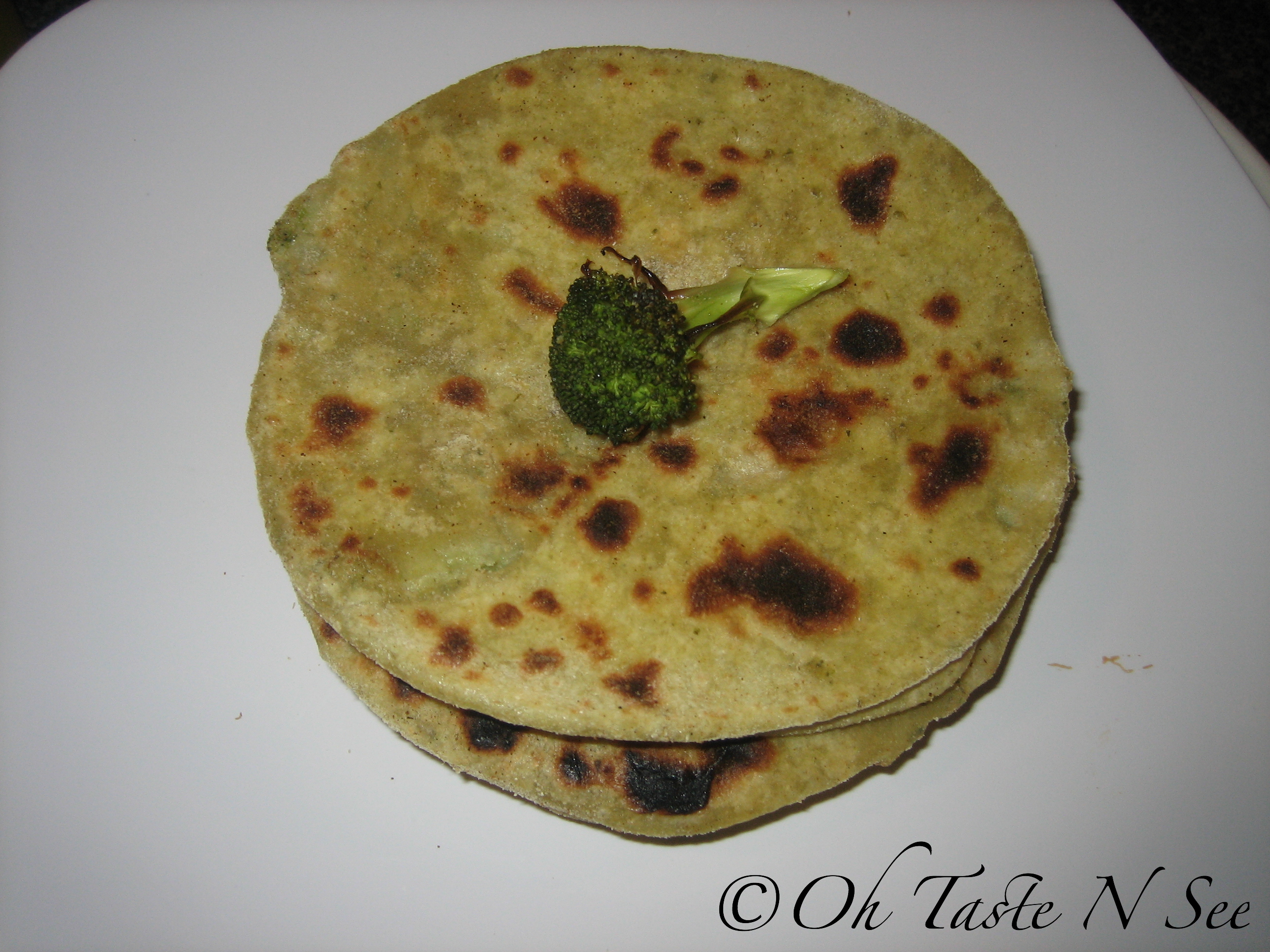 Broccoli Aloo Paratha 2