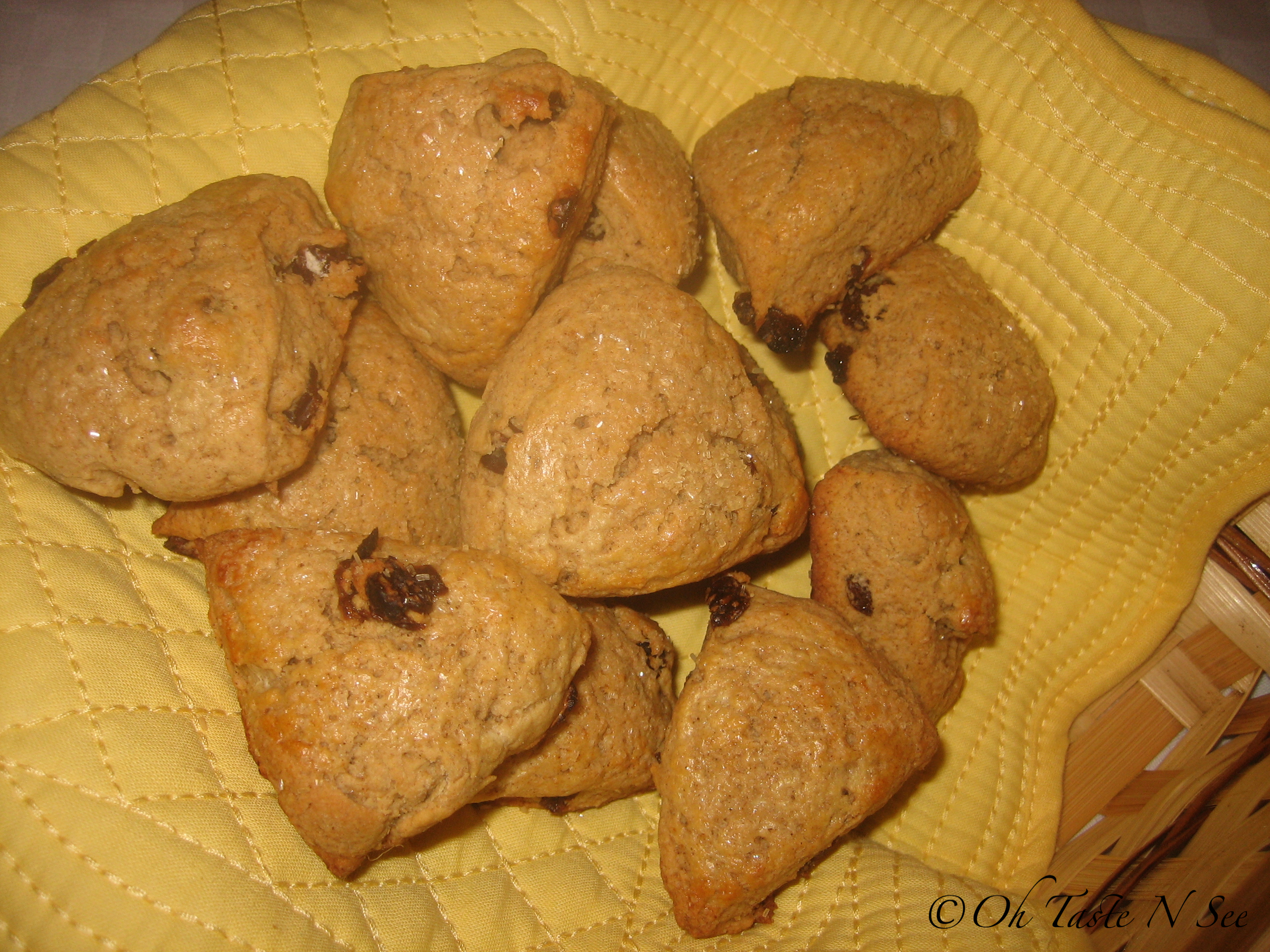 Whole wheat buttermilk scones 3