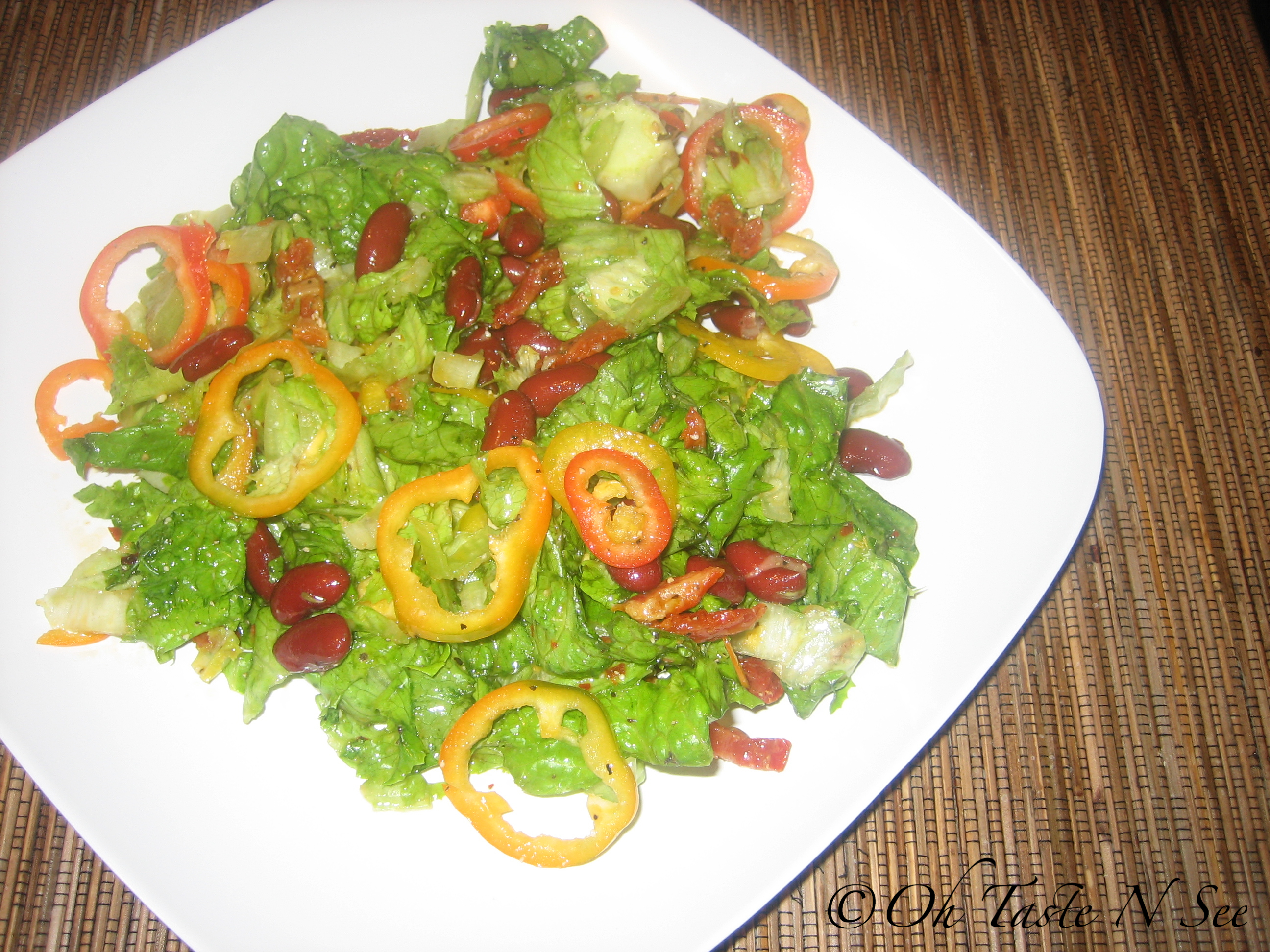 Kidney bean salad 1
