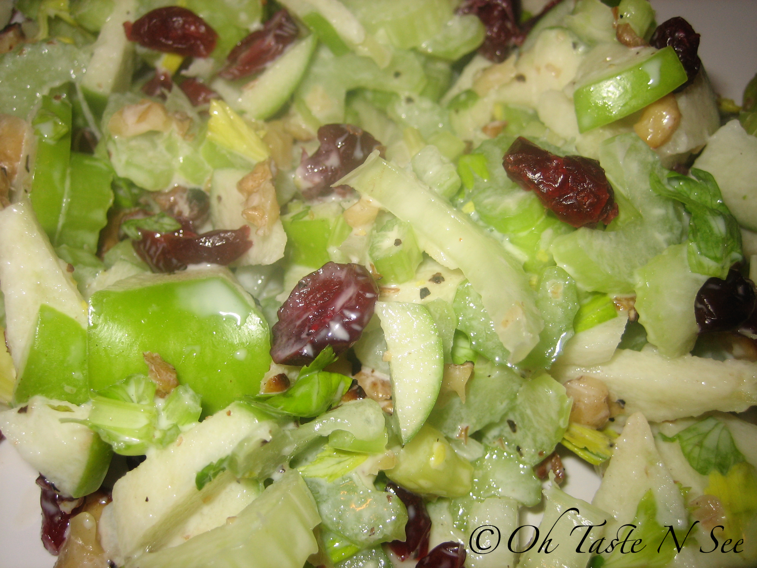 Celery Apple Salad 2