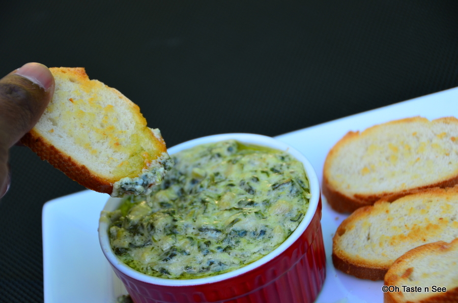 Easy Cheesy Spinach Artichoke Dip(5 minute Microwave Version) | Oh ...