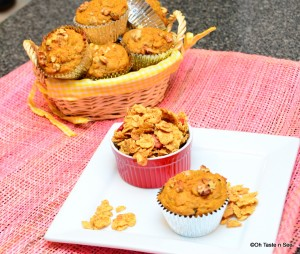 Carrot cereal muffins 1