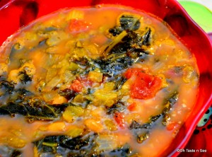 Kale and white bean stew 2