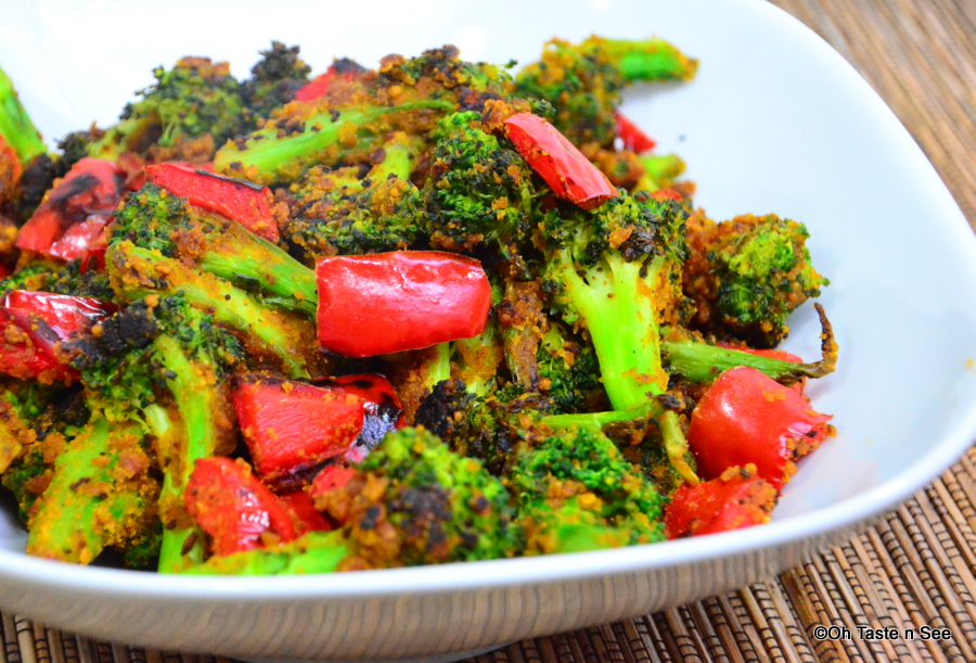 Broccoli bell pepper zunka 3