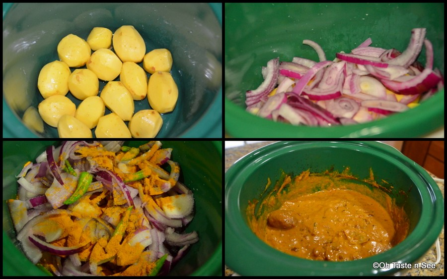 Slow cooker Dum Aloo/Crock Pot Dum Aloo | Slow Cooker Indian recipes ...