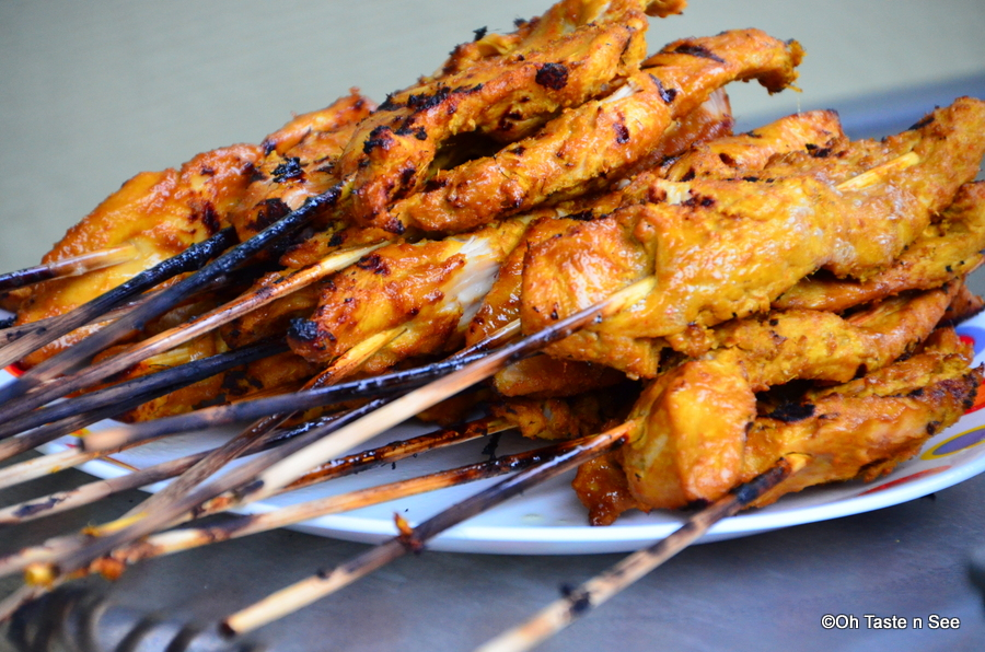 Chicken Satay with Peanut Dipping Sauce | Oh Taste n See.....
