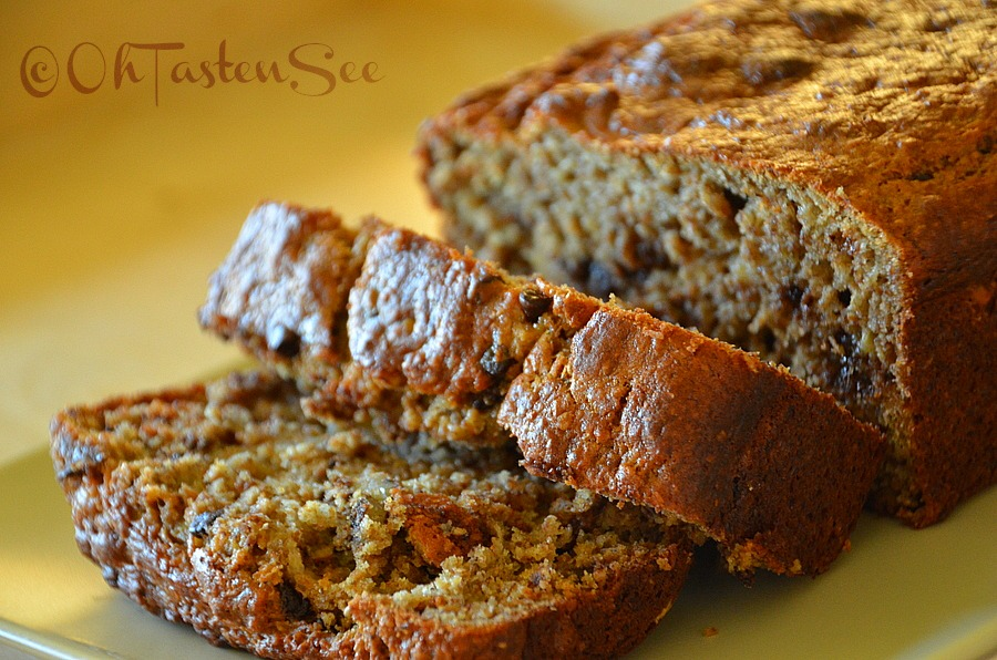 Branana breadwhole wheat wheat bran and flax meal banana bread the forumfinder Image collections