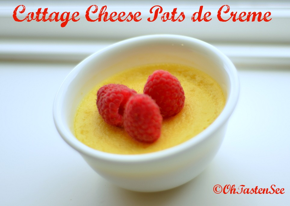 Cottage Cheese Pots De Creme Low Carb High Protein Gluten Free Sugar Free Oh Taste N See