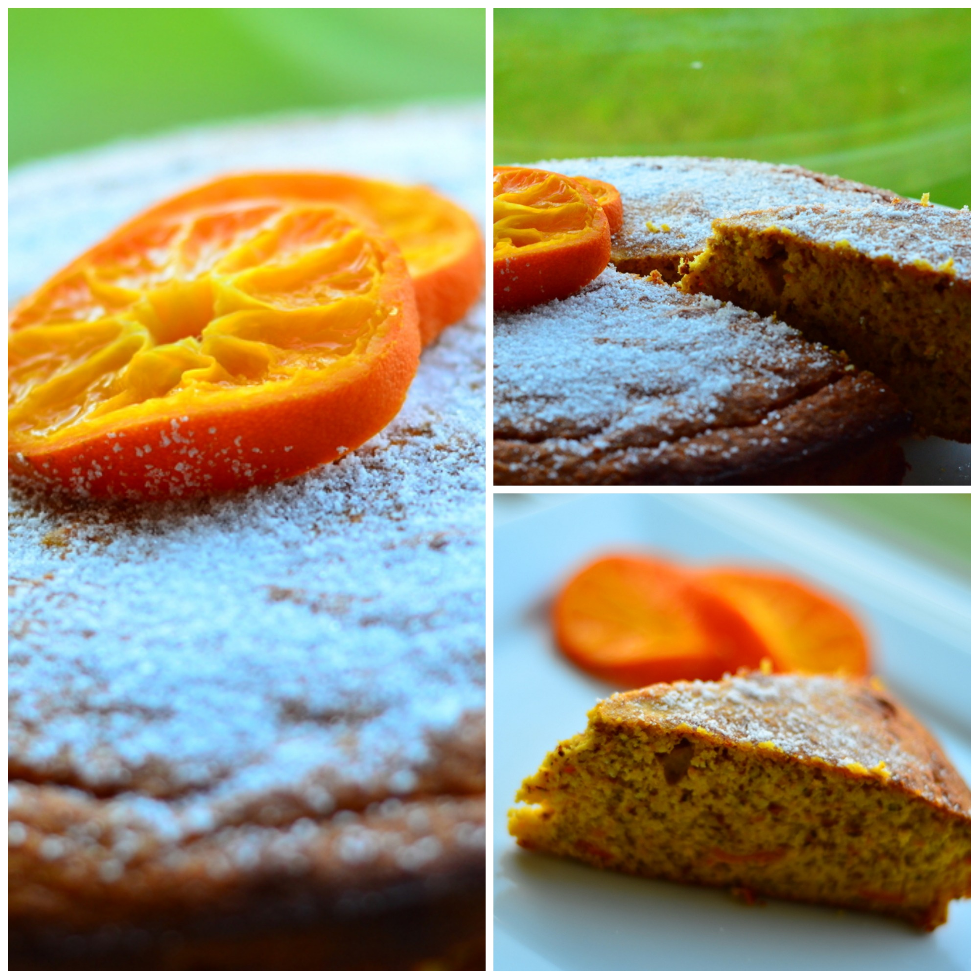 Clementine cake_collage