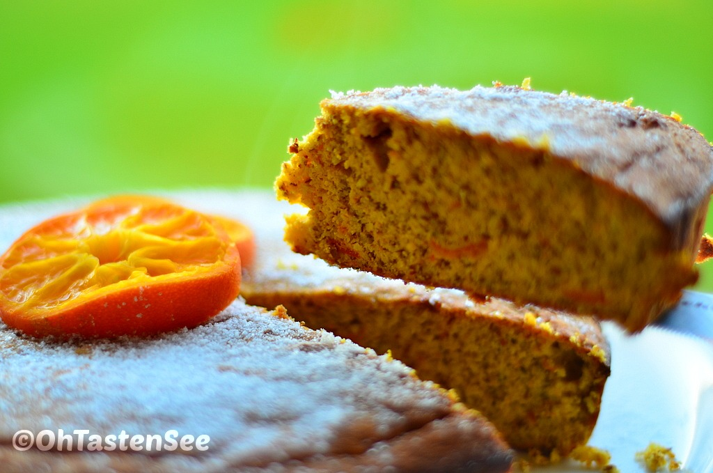 Almond meal Clementine cake(Low carb/Low fat/Sugar free/Gluten free ...