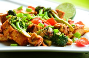 Kung Pao Tofu(Vegetarian SBD Phase 1 Recipe of the Month)