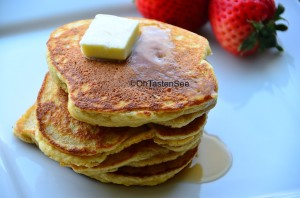 Almond Flour Pancakes(Vegetarian SBD Phase 1 Recipe of the Month)