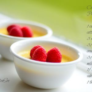 Cottage Cheese Pots de crème(Low carb/High Protein/Gluten free/Sugar free)