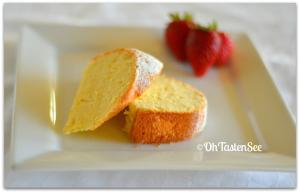 Cold Oven Cream Cheese Pound cake